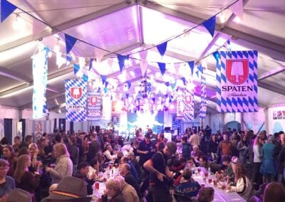 Event on the tent
